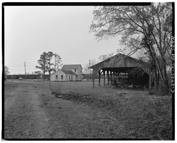 overall_view_to_west_-_tyrrell_farm_6245_fannet_road_highway_124_beaumont_jefferson_county_tx_habs_tex123-beau-v1-3-tif